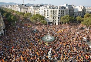 Onze de setembre de 2012.- Barcelona