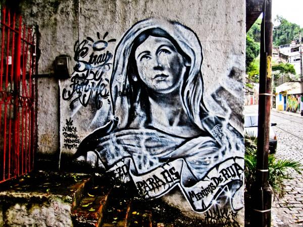 Ana Maria Graffiti Graffitis de la Virgen María