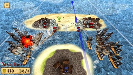 تحميل لعبة القراصنة للآندرويد والهواتف الذكية مجاناً Pirates! Showdown Full Free-APK-1-1-35