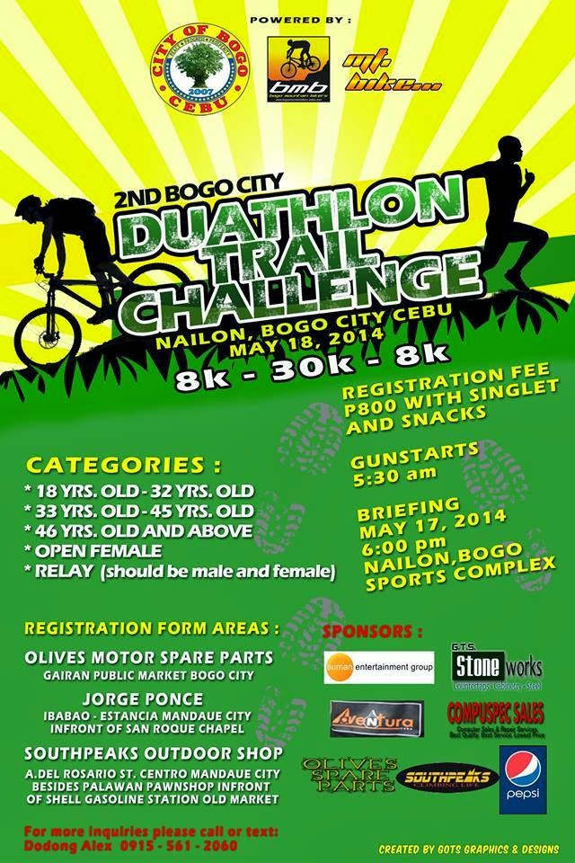 2nd Bogo City Duathlon Trail Challenge