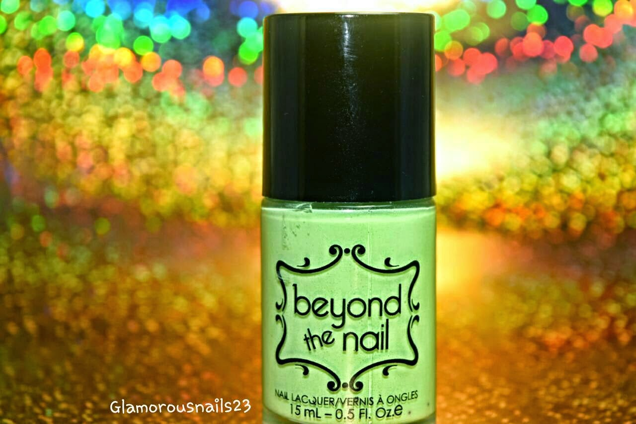 Beyond The Nail Spring Green