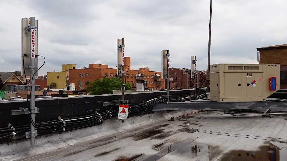 Nyphonejacks Rooftop Cellular Site Tower