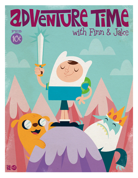 Adventure Time por Montygog