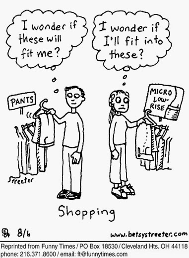 Idea of Shopping Funny Cartoons