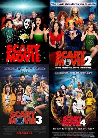 Scary Movie 1 2 3 4