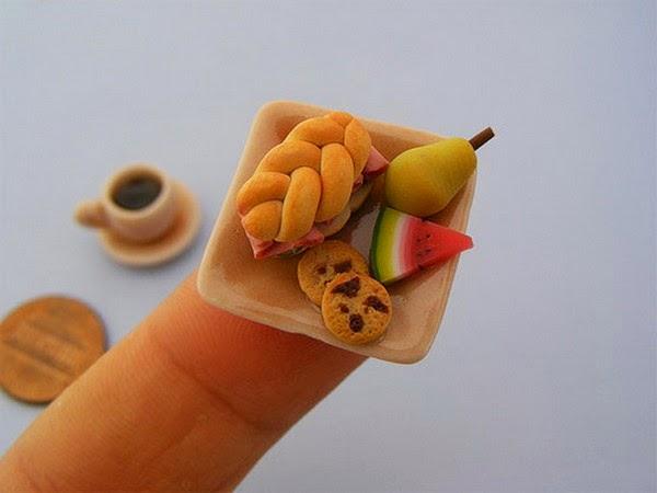 Shay Aaron Miniatures, esculturas en miniatura