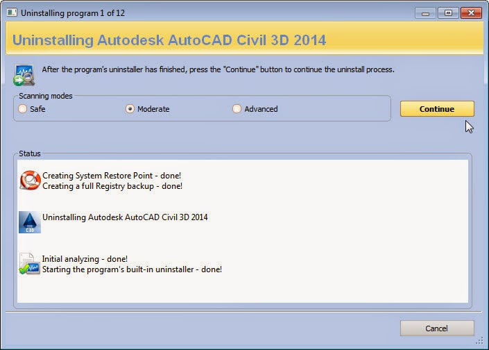 autodesk removal tool 2014