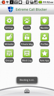 Extreme Call Blocker Droid Apk - blokir panggilan telepon dan SMS