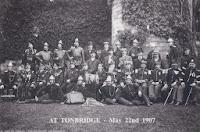 Brugse brandweermannen behalen er een 1ste prijs in Engeland in 1907