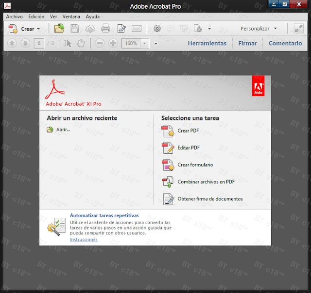 Acrobat+Pro Adobe Acrobat XI Professional 11.0.3 [ISO Español][Crea y