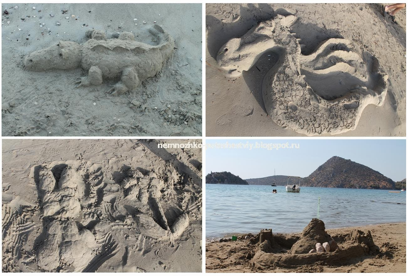 Идеи из песка фото