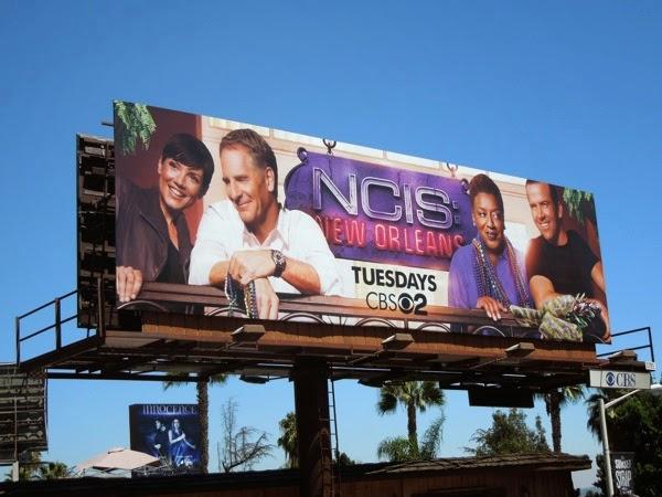 NCIS New Orleans series premiere billboard
