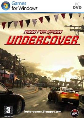 Need for Speed: Undercover PC Cover