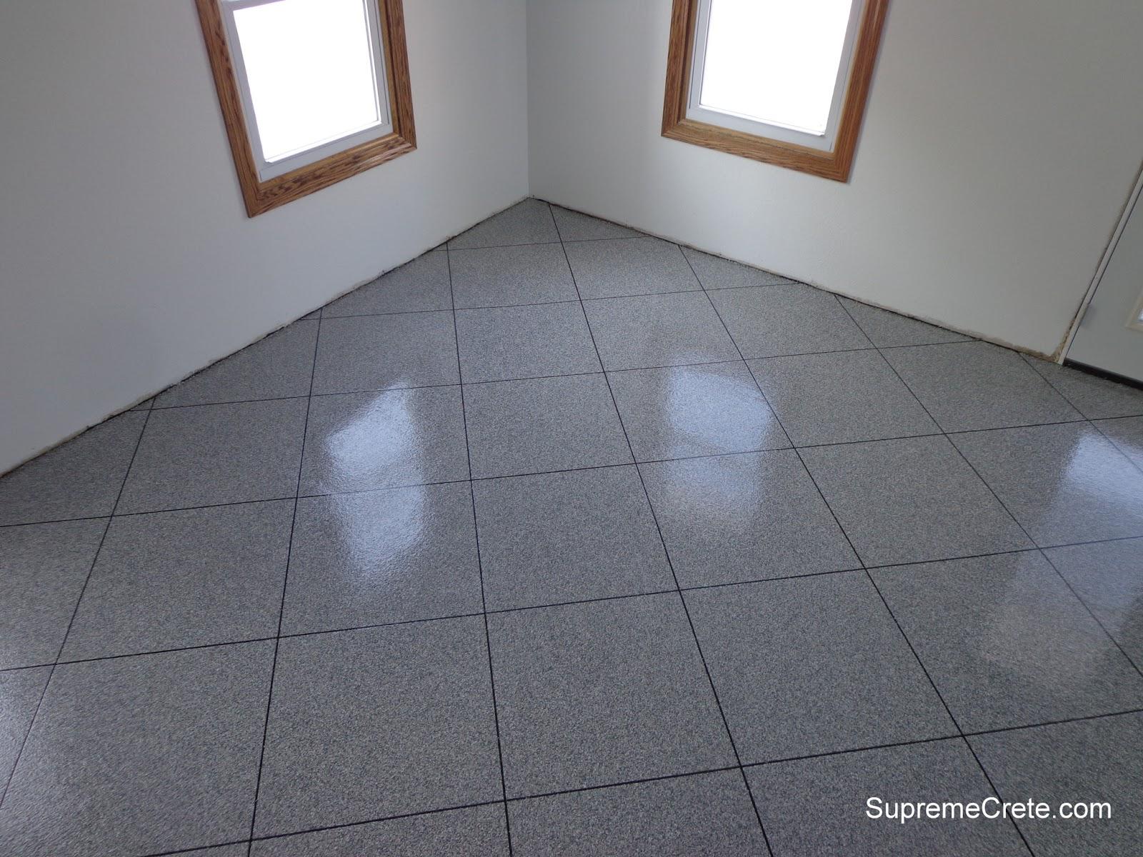 Decorative Concrete Contractors Epoxy Granite Tile Flooring New - Clear epoxy over tile