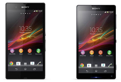 Sony Xperia Z, ZL Spesifikasi dan Harga