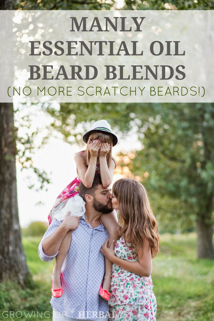 DIY Beard Oil for kissably soft beards! via How To Just About Anything