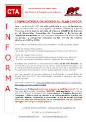 CONVOCATORIA DE ACCESO AL PLAN INFOCA