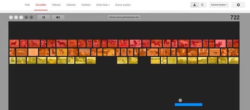 Google'da Atari Oyunu