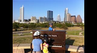 Austin piano public art