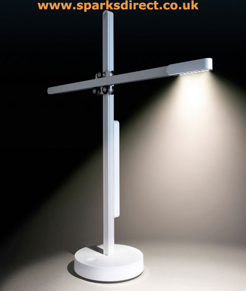 White Jake Dyson LED Task Lamp