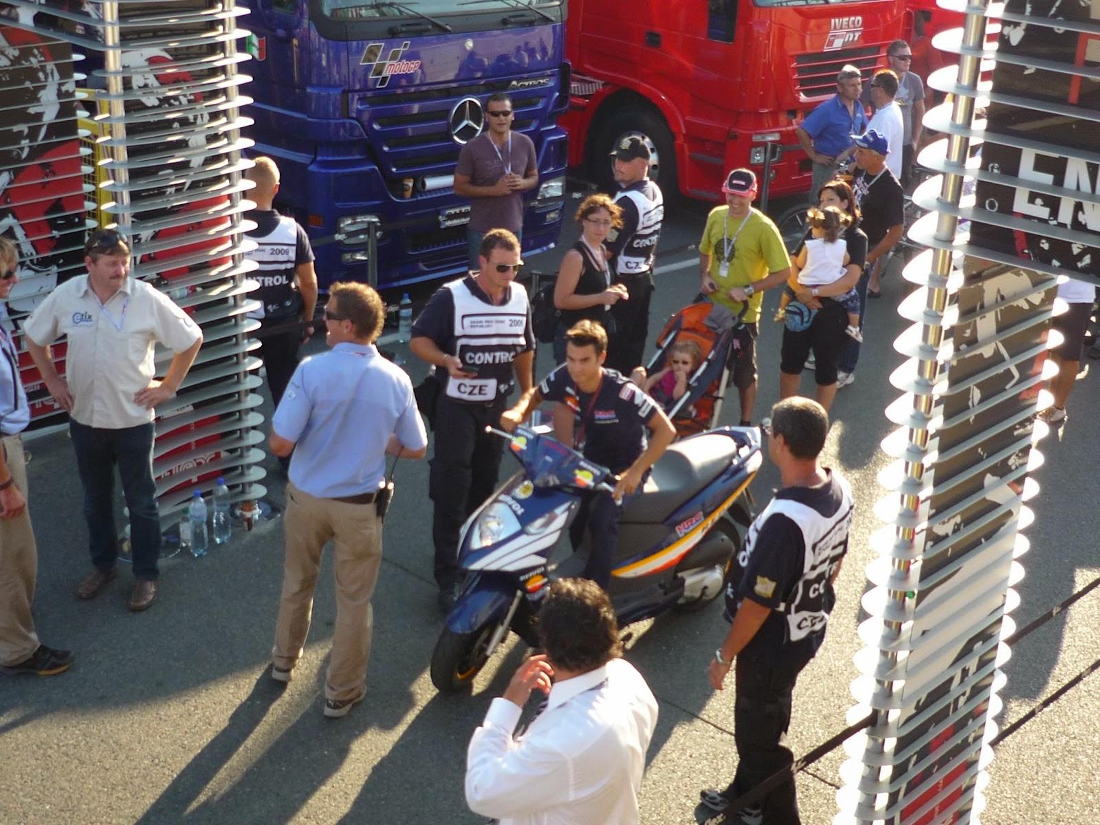 dani pedrosa en el circuito de Brno