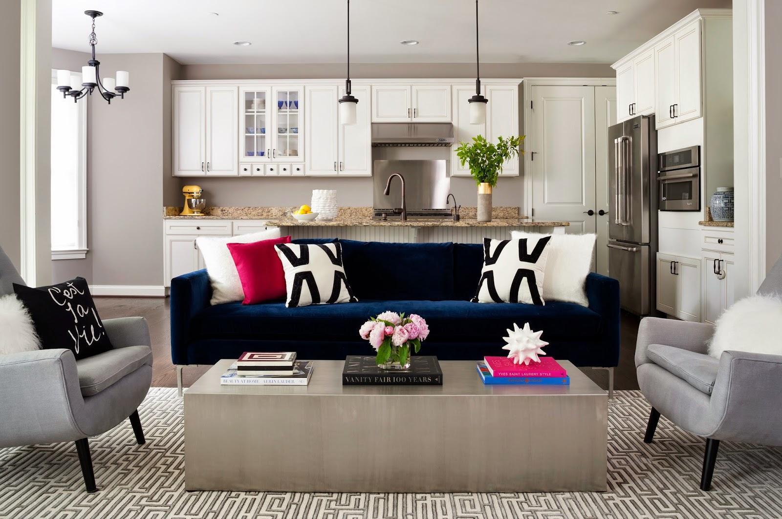 JWS Interiors Modern Family Room Project Reveal