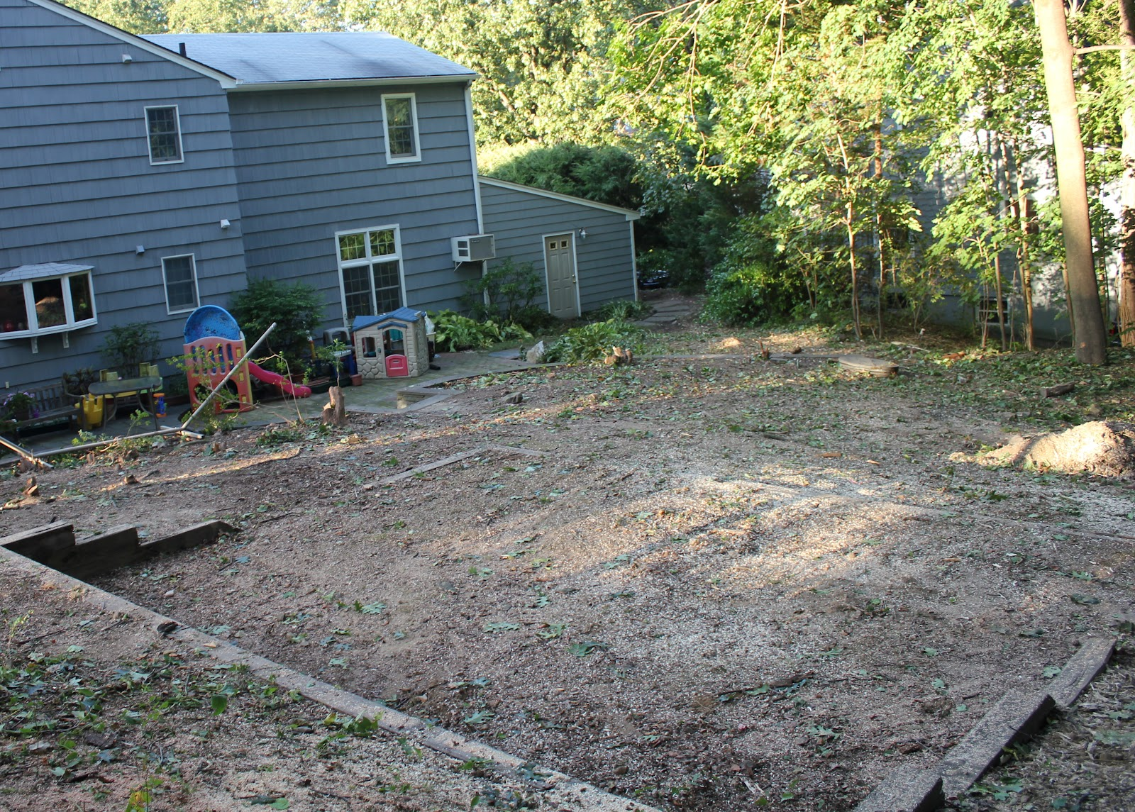 gardening and gardens backyard renovation part 1 tree removal