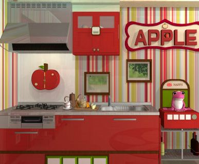 Fruit Kitchens Escape 27: Apple Red Walkthrough