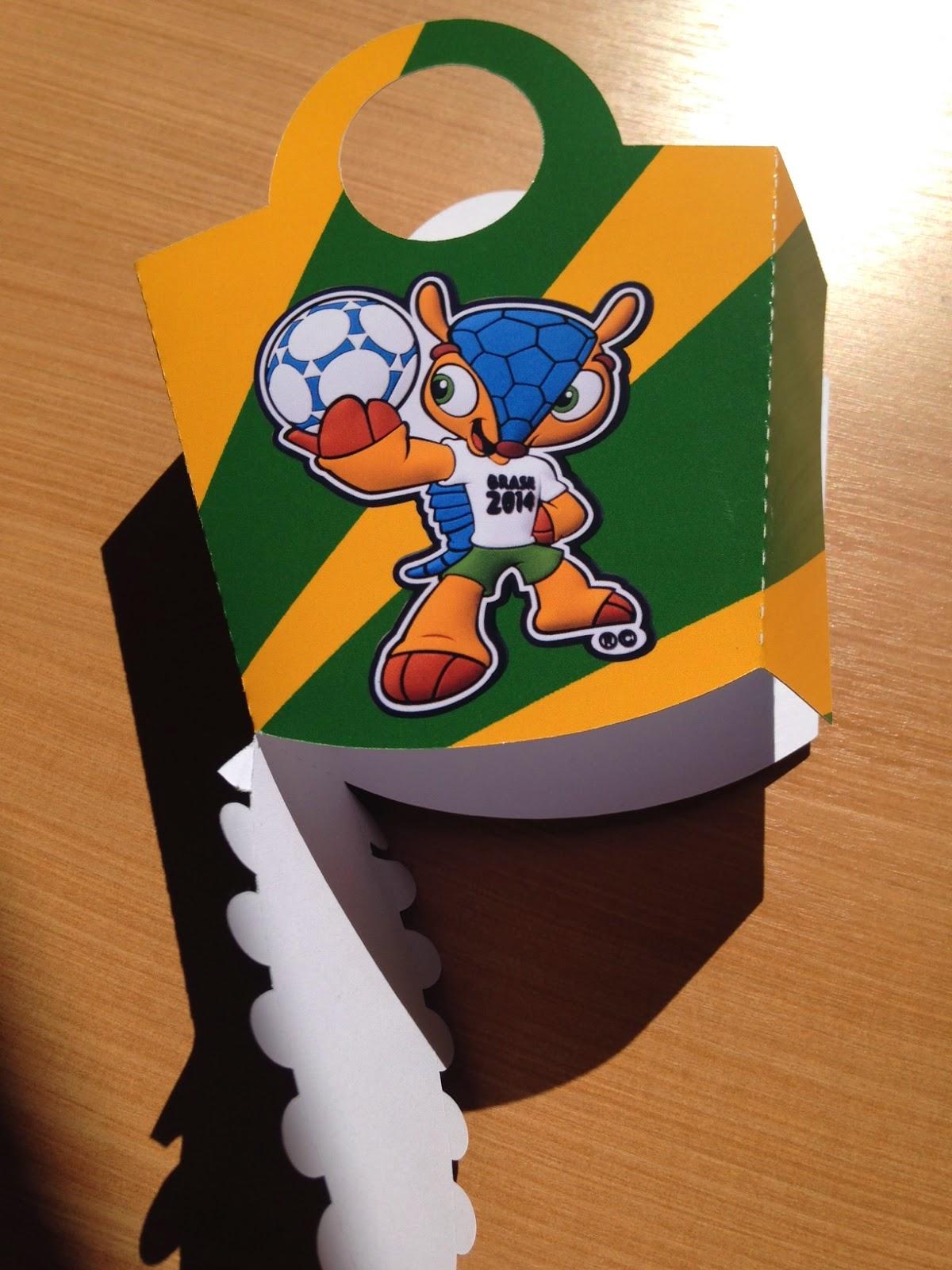 Silhouette Brasil na Copa