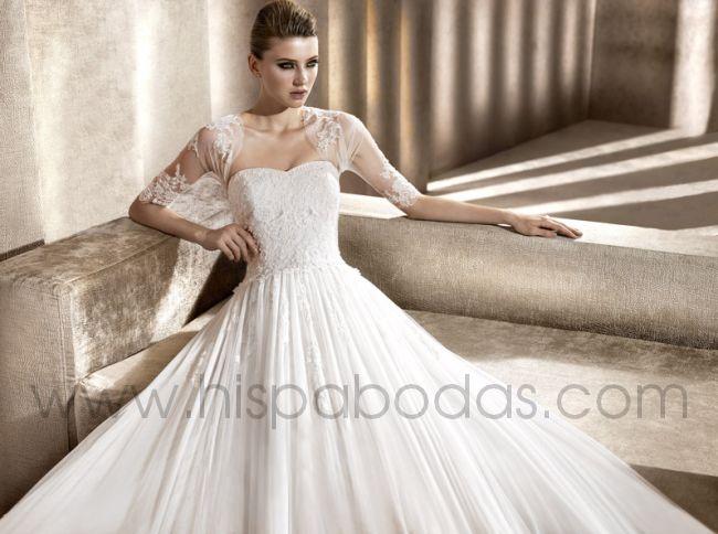 Peinados de novia vestidos para gorditas chaquetas y for Chaquetas de novia