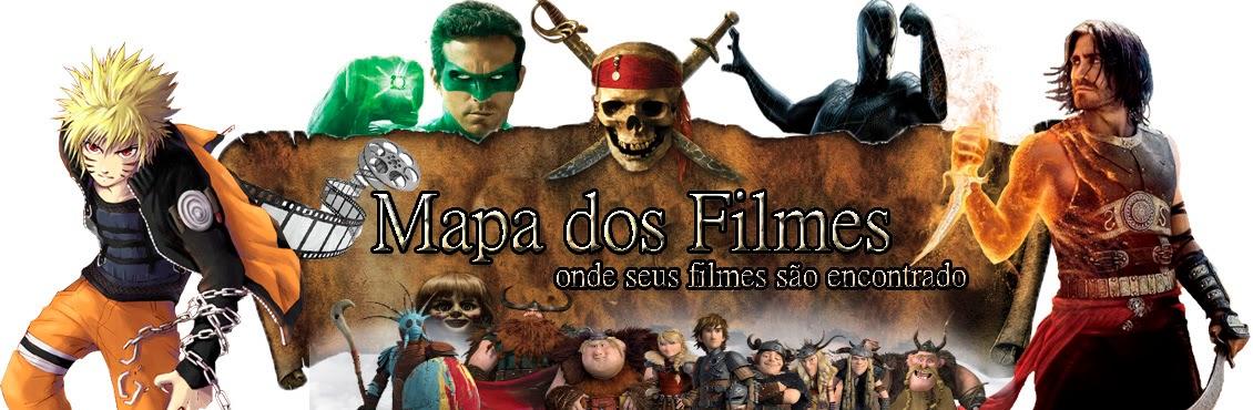 mapa dos filmes