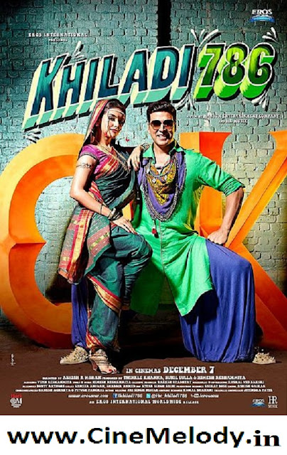 Khiladi 786 Hindi Mp3 Songs Free  Download -2012