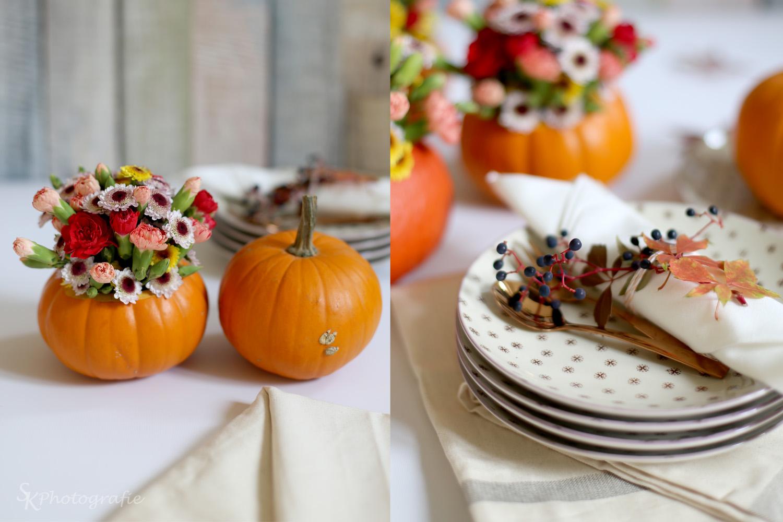 Tischdeko herbst geburtstag  Herbstdeko Mit Kürbisse: Dekoideen für den herbst meine herbstdeko ...
