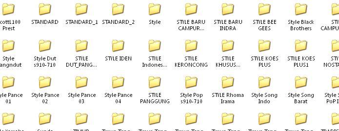 Untuk File Style Saya Kemas Dalam Bentuk Rar
