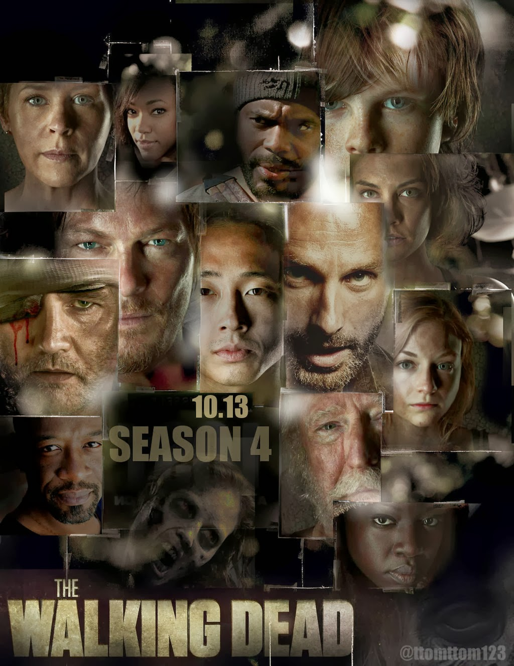 Capa Baixar Série The Walking Dead S04E01 Dublado   HDTV + RMVB Legendado Baixaki Download