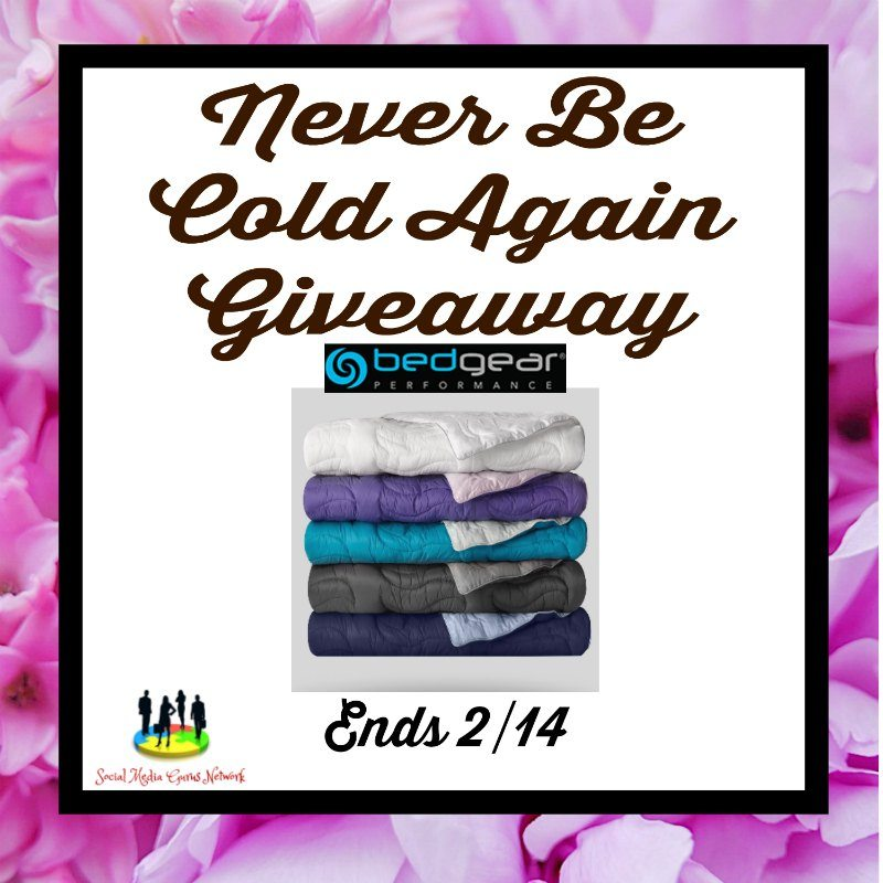 Never Be Cold Again Giveaway