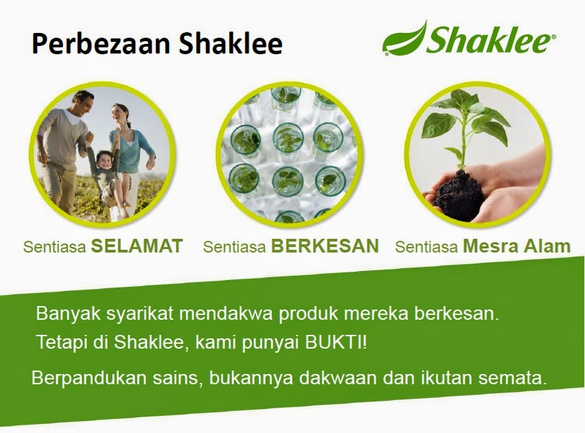 Shaklee Sentiasa Selamat dengan melalui pelbagai ujian dan kajian lengkap