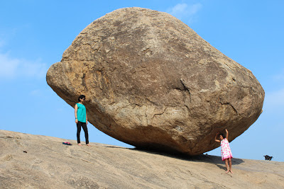 Mahabalipuram Krishna's Butterball