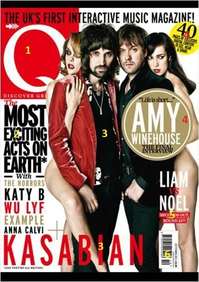 sullivans_media_blog Front cover analysis for Q magazine