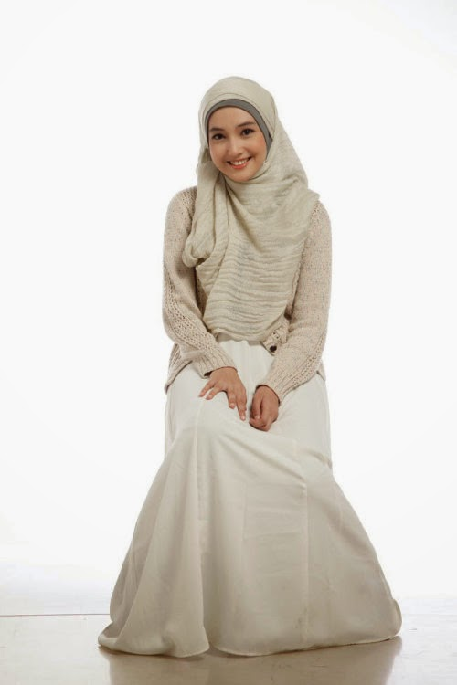 Anna Karina Gilbert Pemeran Aisyah Putri  Jilbab In Love RCTI