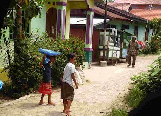 penjual Molen di Banjarmasin