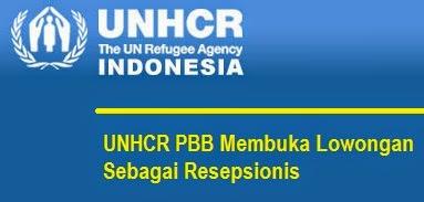 UNHCR PBB Membuka Lowongan Sebagai Resepsionis
