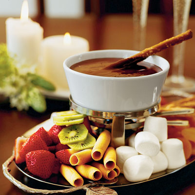 fondue de chocolate receita para 4 pessoas sapore. Black Bedroom Furniture Sets. Home Design Ideas