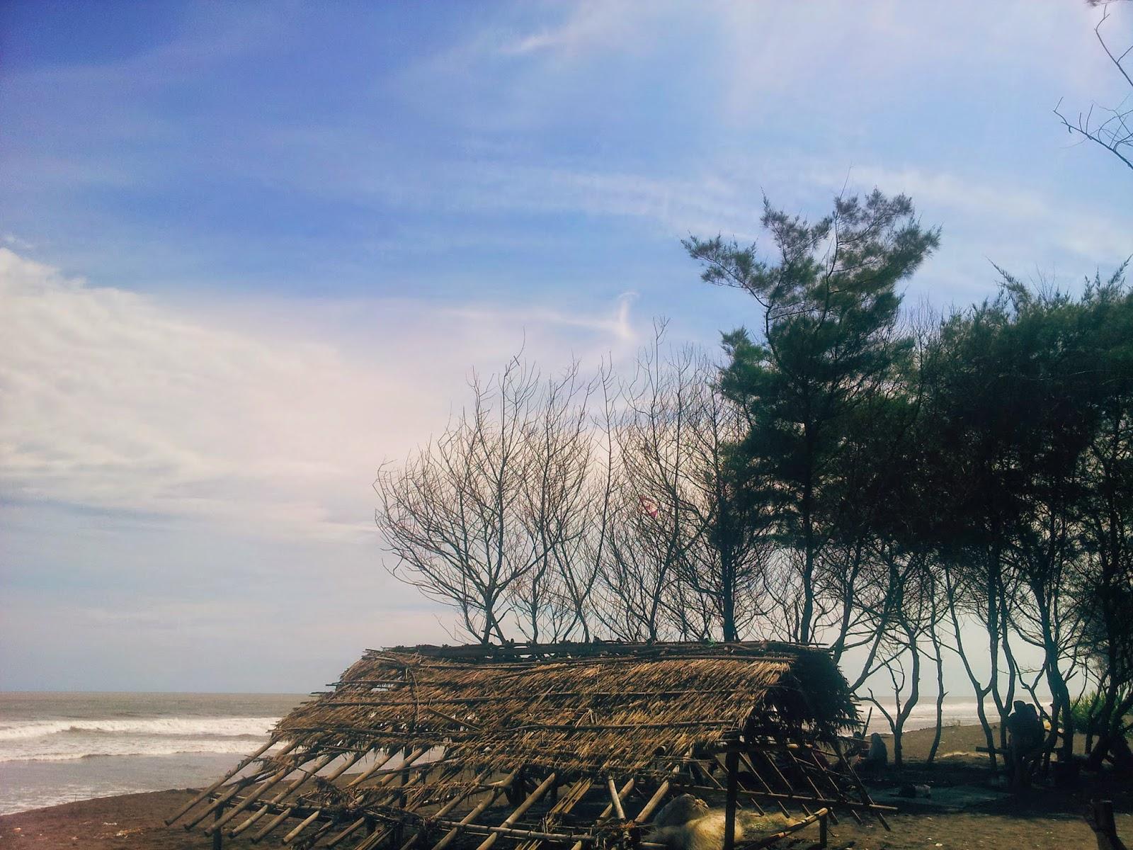Pantai Baru in Bantul Jogja