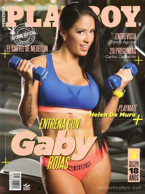 FOTOS: Gaby Rojas Revista Playboy Venezuela - Abril 2015