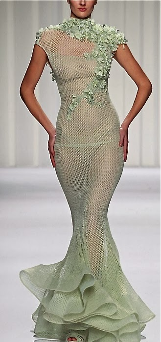 Gorgeous Fish Shape Dress,UK Fashion