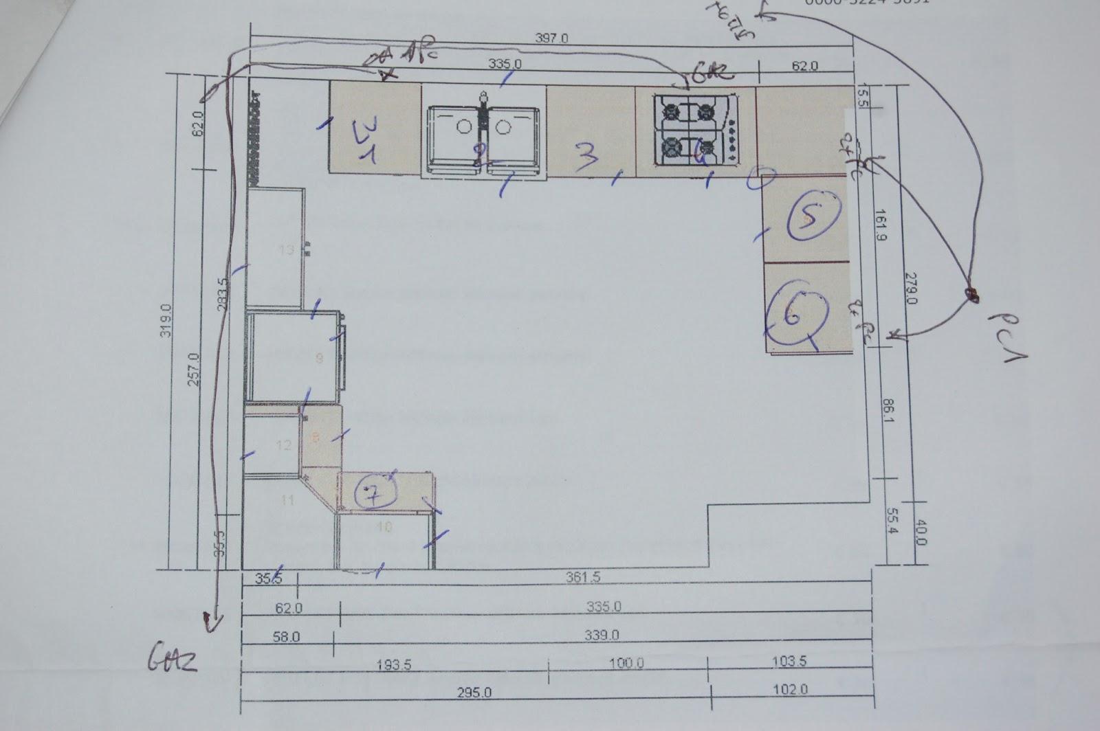 Cul de sac tarn travaux la cuisine 3 for Distance plan de travail meuble haut