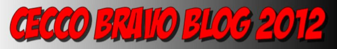 CECCO BRAVO BLOG 2012
