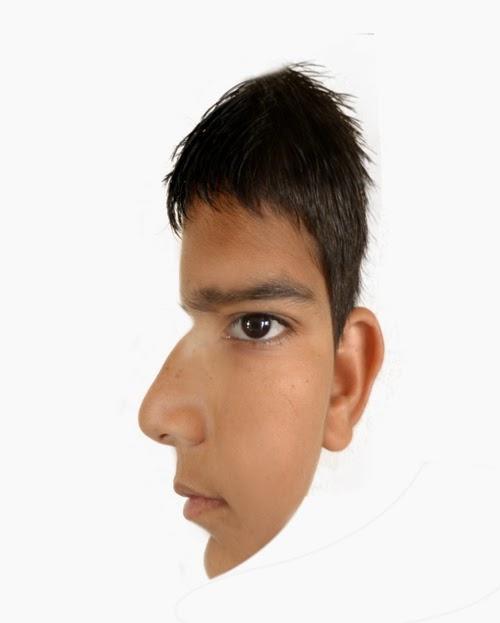 assume face