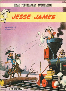 Komik Lucky Luke - Jesse James
